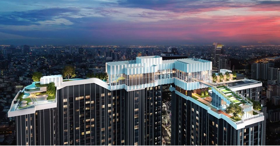 Life Asoke Rama9 1 Bedrooms for RENT near MRT Rama9
