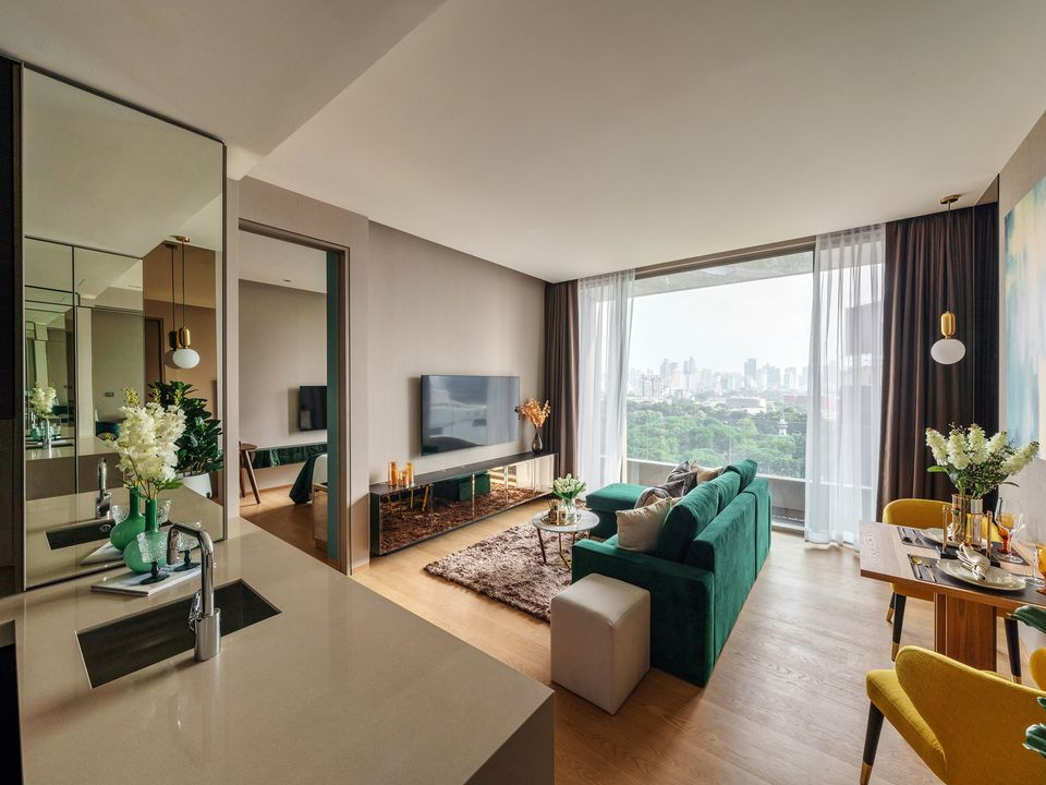 Saladaeng One 1bed park view