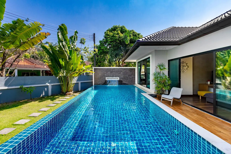 4 Bedrooms, 3 Bathrooms Private Pool Villa : VB-001