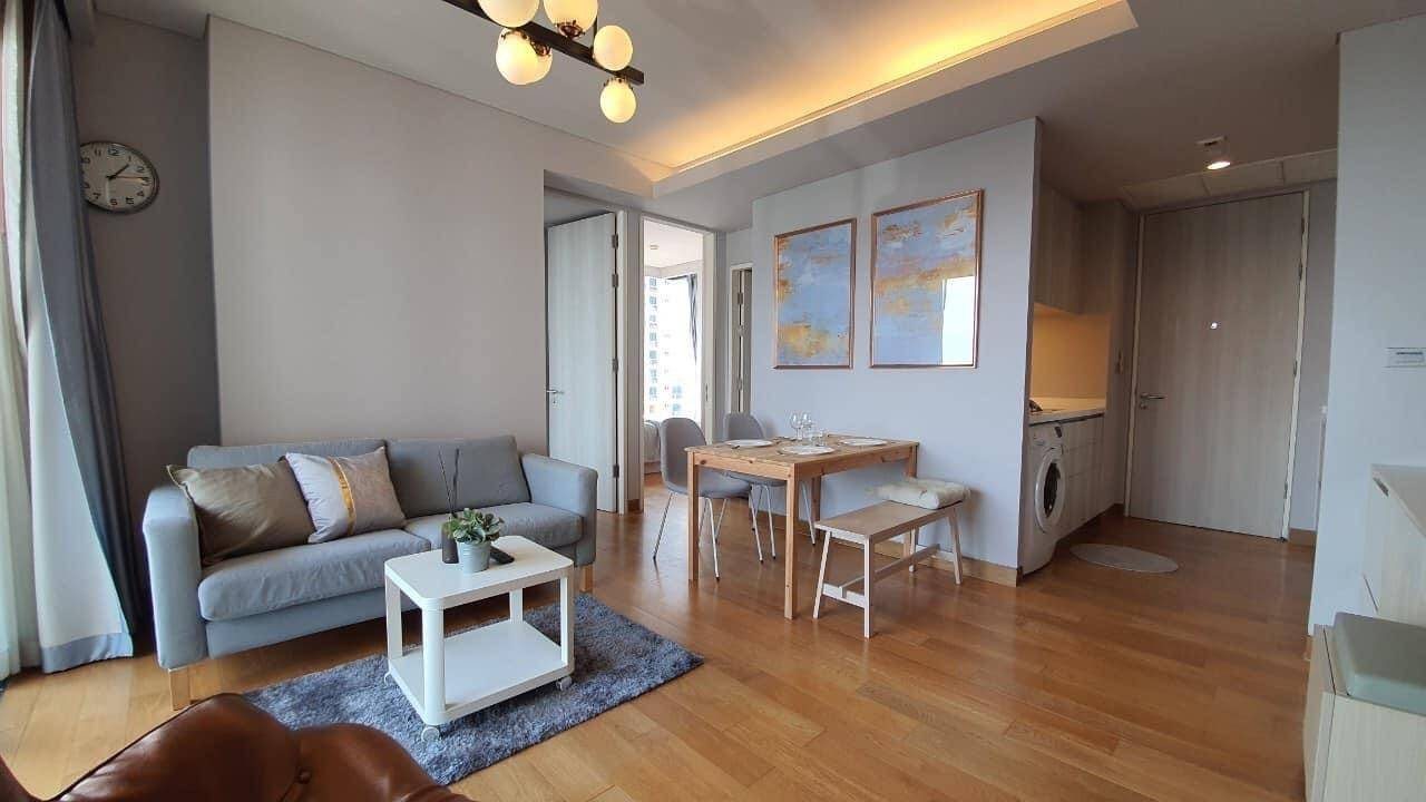 LTH2747 -The Lumpini 24 FOR RENT 2 beds 2 baths size  57 Sq.M. BTS Phrom Phong station ONLY 55k/Month