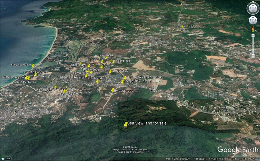 Big Land Plot For Sale In Cherngtalay ID: LFS-005
