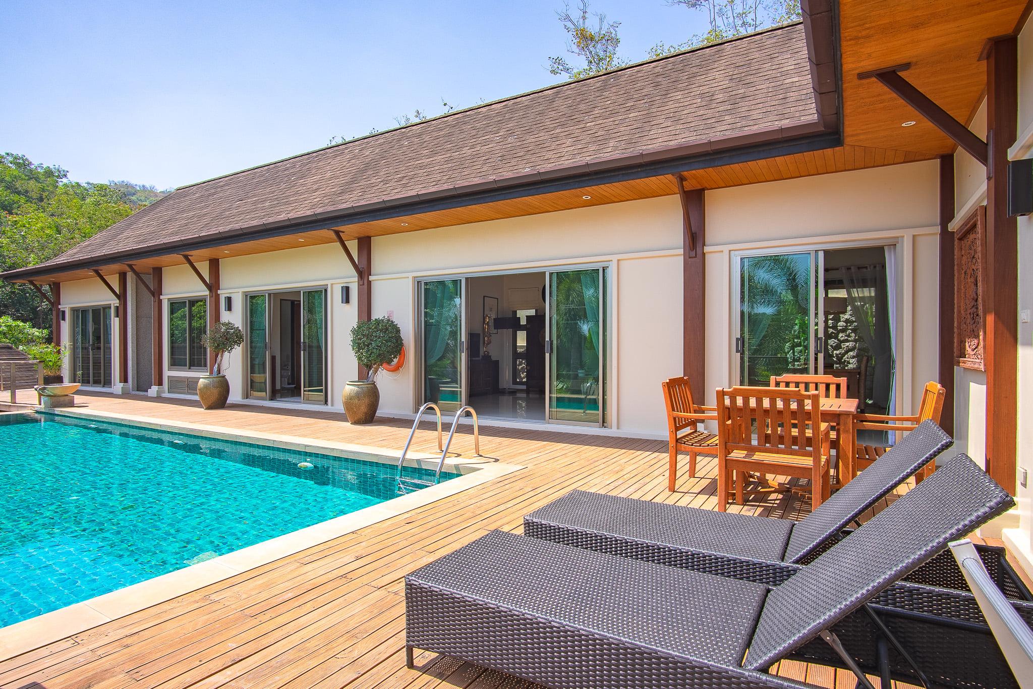 Modern Oriental-style Villa (ID: NH-002)