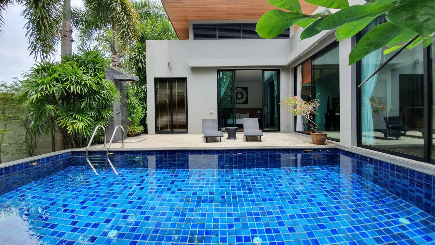 Modern Pool Villa Garden View (ID: NH-004)