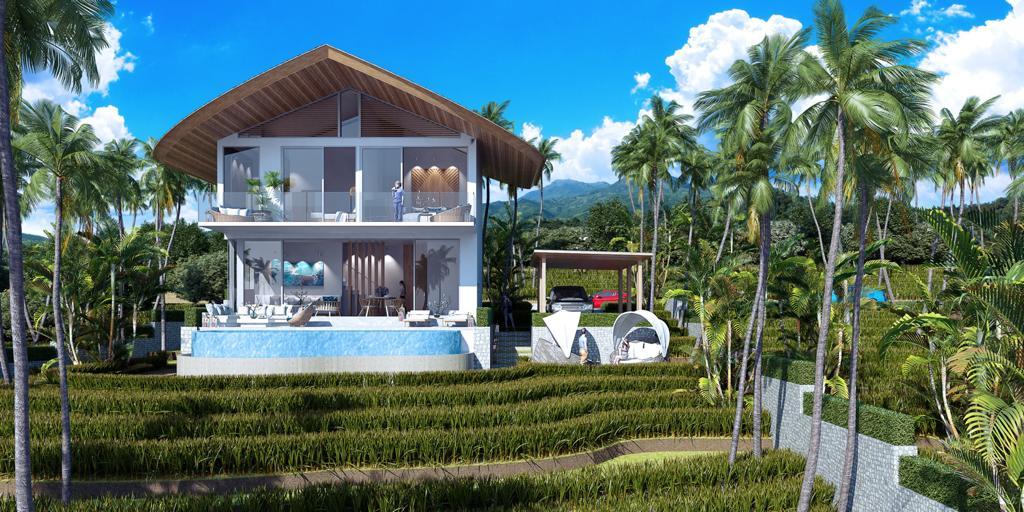 Brand New Pool Villa for Sale in Kamala ID:KL-019
