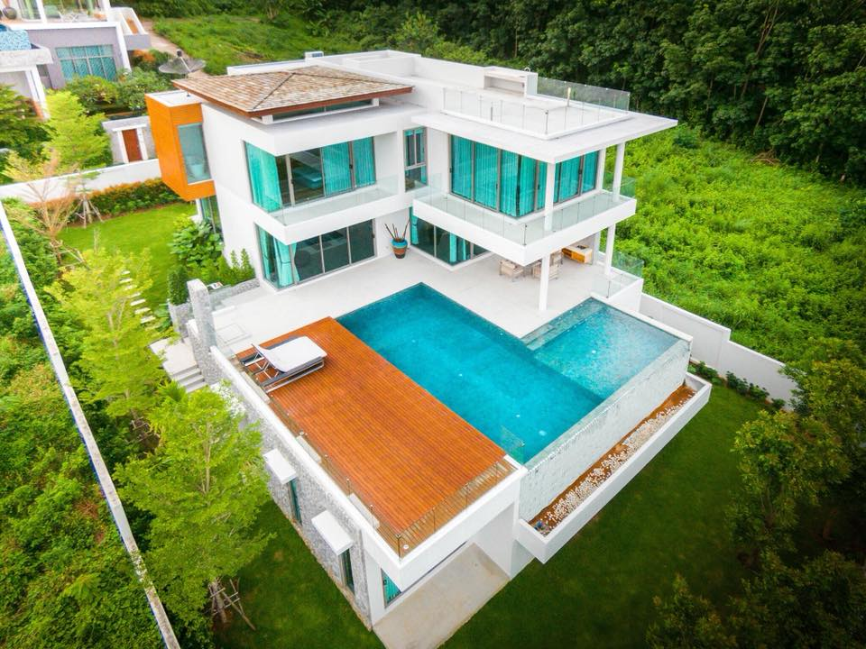 Modern Hillside Villa with Amazing Views (ID: NH-008)