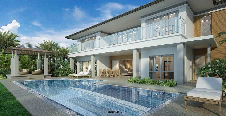New Lakefront Pool Villa In Laguna (ID: LG-016)