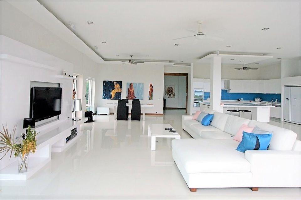 Bright Modern Pool Villa with Ocean View (ID: YM-007)