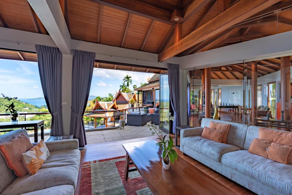 Luxury Estate with Breathtaking View in Surin (ID: SR-013)
