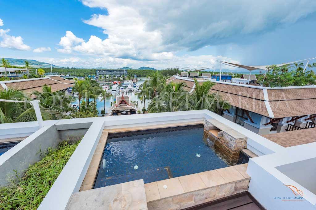 Penthouse Pool View in Royal Phuket Marina (ID: KOH-022)