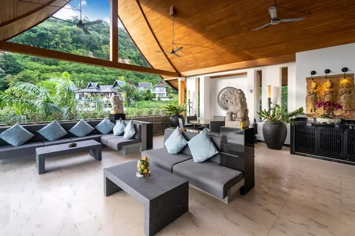 Modern and Thai Style Seaview Villa in Patong (ID: PT-010)