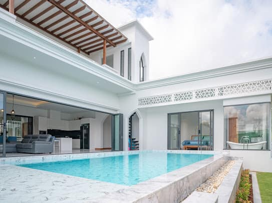 New Modern Moroccan Pool Villa in Bangjo (ID: BJ-007)