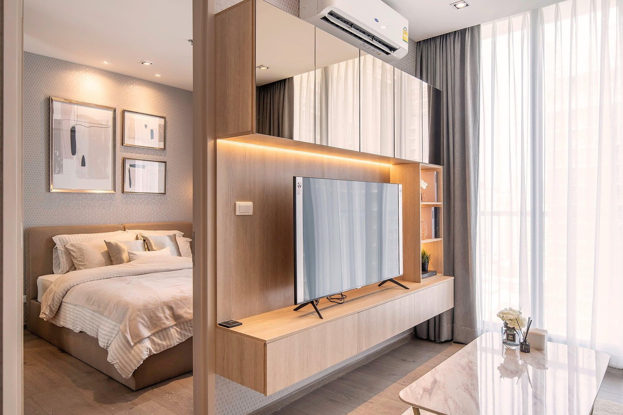 LTH3314 – Park 24 FOR RENT 1 bed 1 bath size 39 Sq.M. Nearby BTS Phrom Phong station ONLY 30k/Month