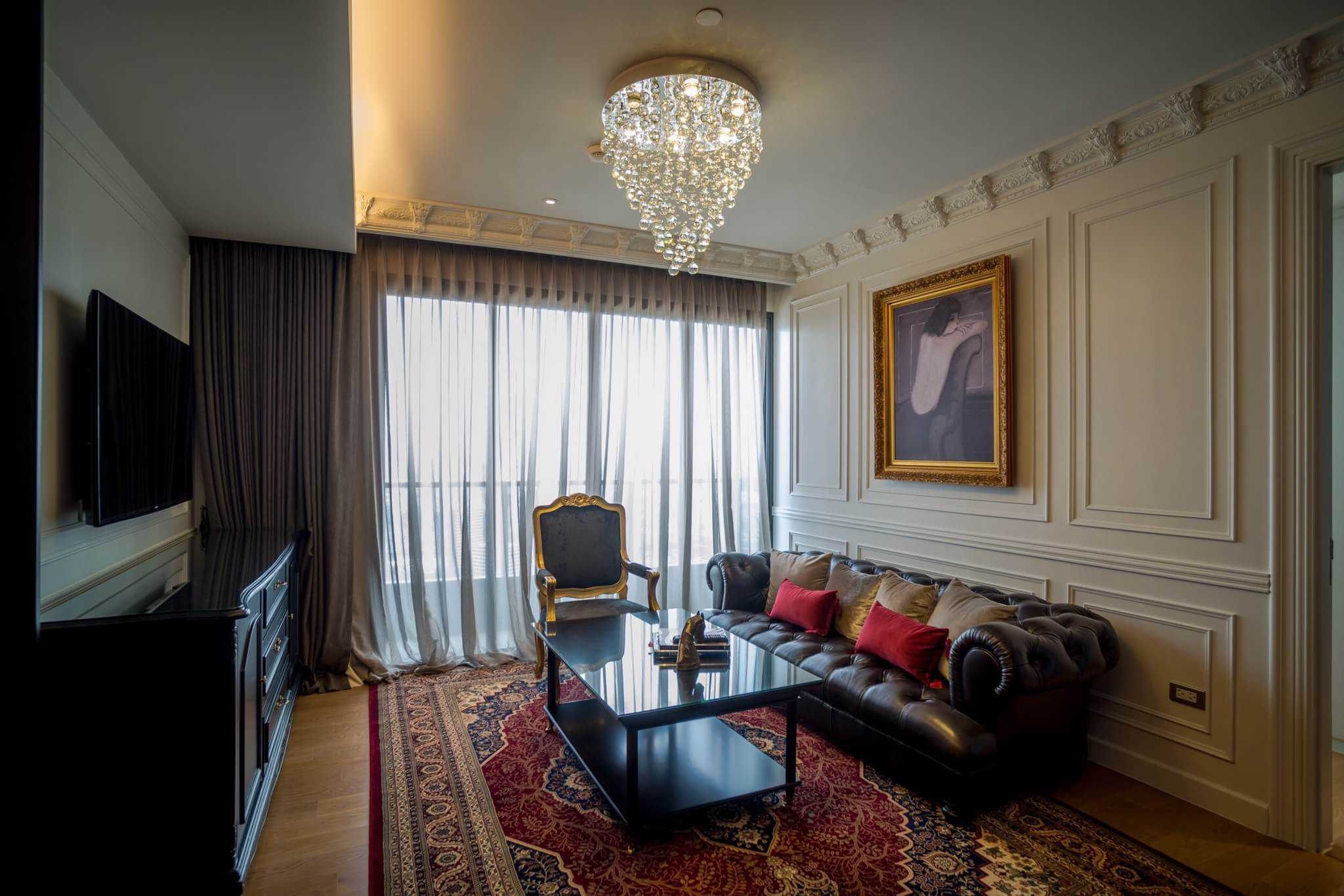 LTH3372&LTH3373 -Mini Luxury Penthouse FOR RENT&SALE at Sukhumvit 24 area 3 beds size 110 Sq.M. Nearby BTS Phrom Phong station