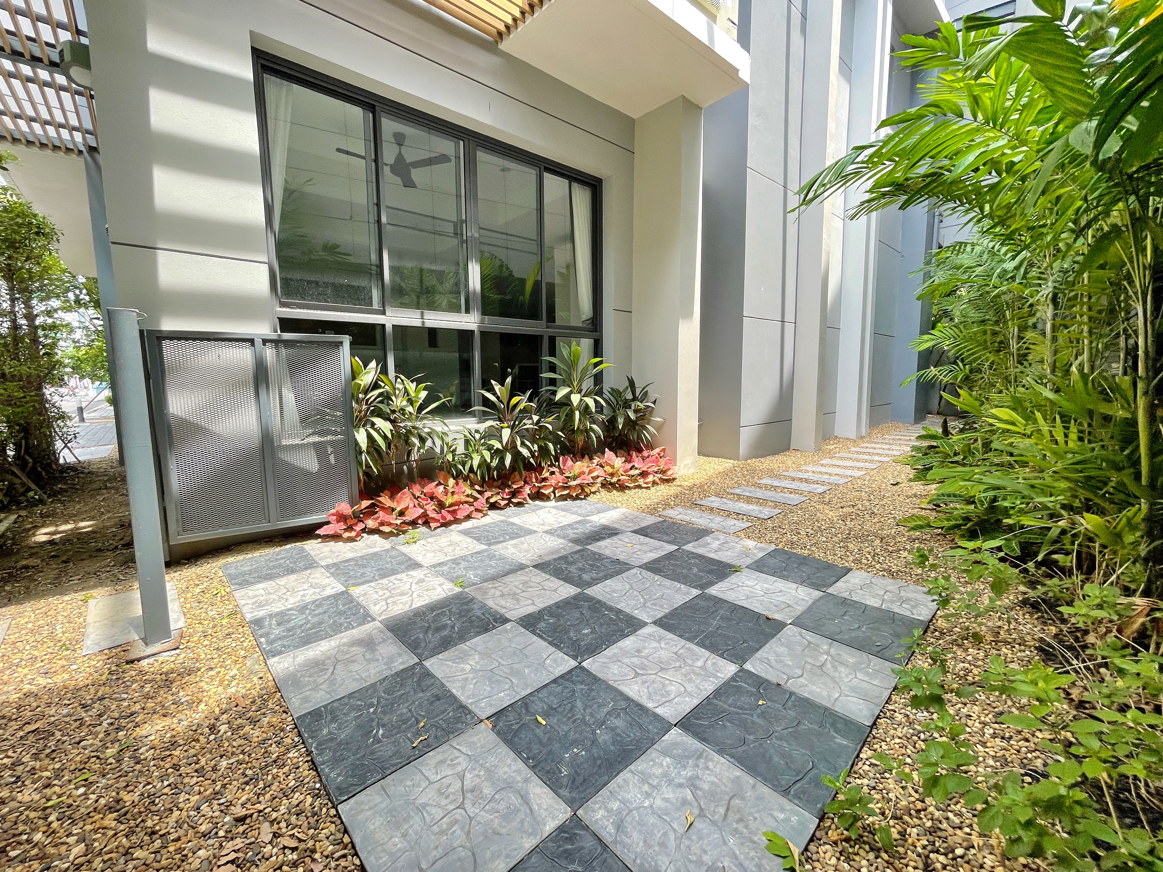 NewHouse in Secure Compound for Rent 3-Minutes to Bangkok Pattana School, Sukhumvit 105