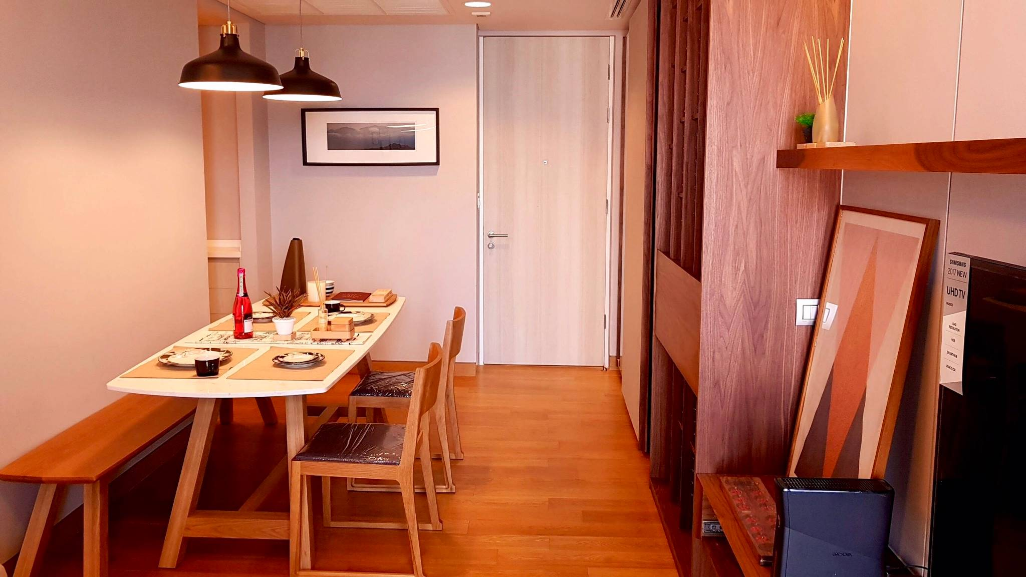 LTH3447 -The Lumpini 24 FOR RENT 2 beds 2 baths size 55.02 Sq.M. Nearby BTS Phrom Phong station ONLY 50k/Month