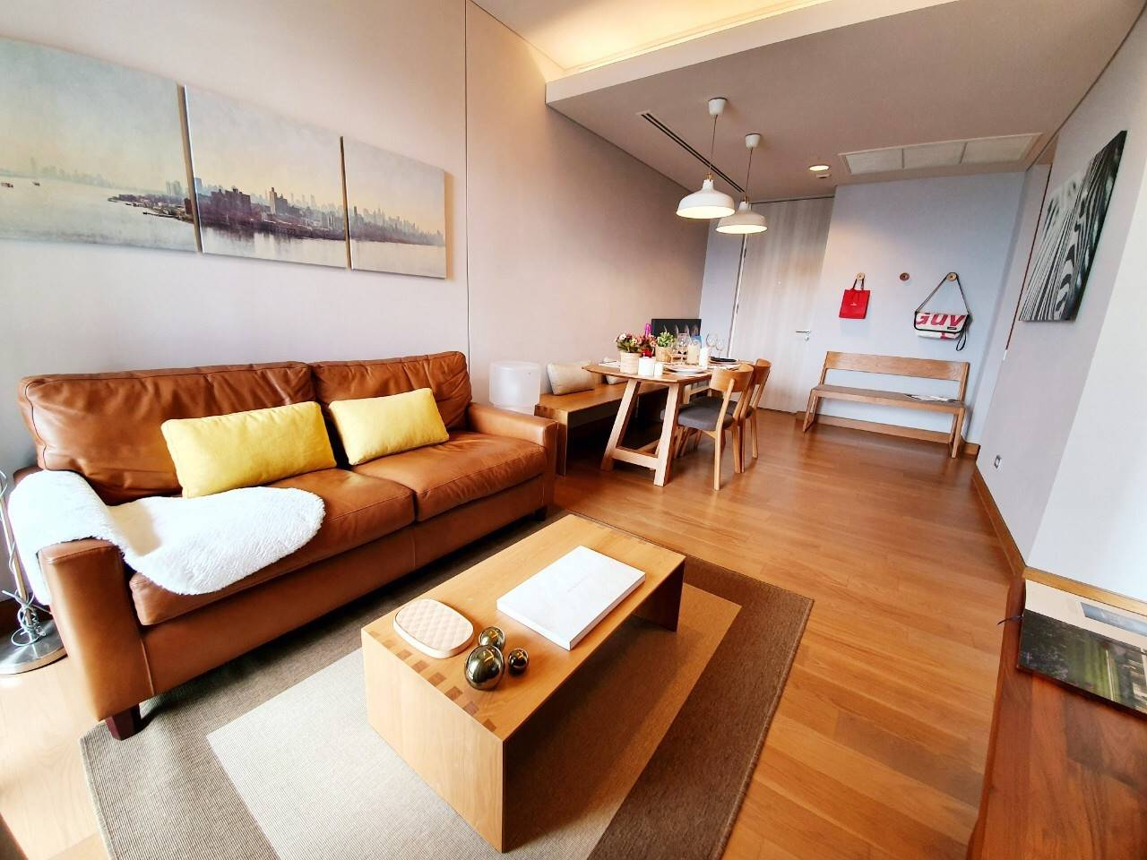 LTH3448 -The Lumpini 24 FOR RENT 2 beds 2 baths size 55.02 Sq.M. Nearby BTS Phrom Phong station ONLY 55k/Month