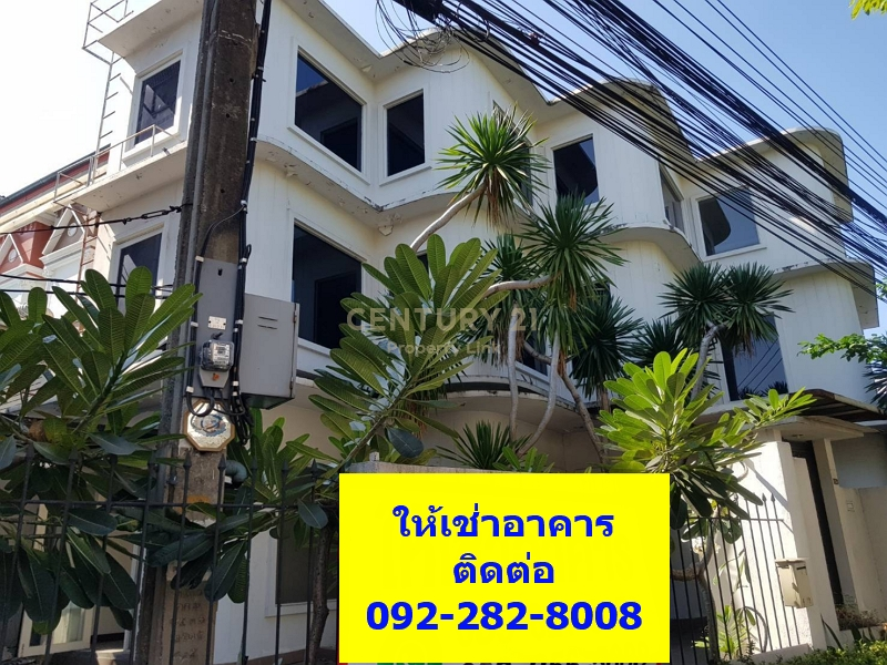 3-storey commercial building for rent, with a side garden, Soi Wachiratham Sathit 30, Sukhumvit / Punnawithi / 48-CB-64026.