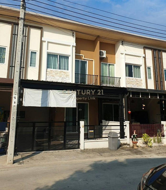 Townhome for sale The Pleno Suksawat 30, accessible in many ways, both Suksawat 30 and Phutthabucha 29/38-TH-64075