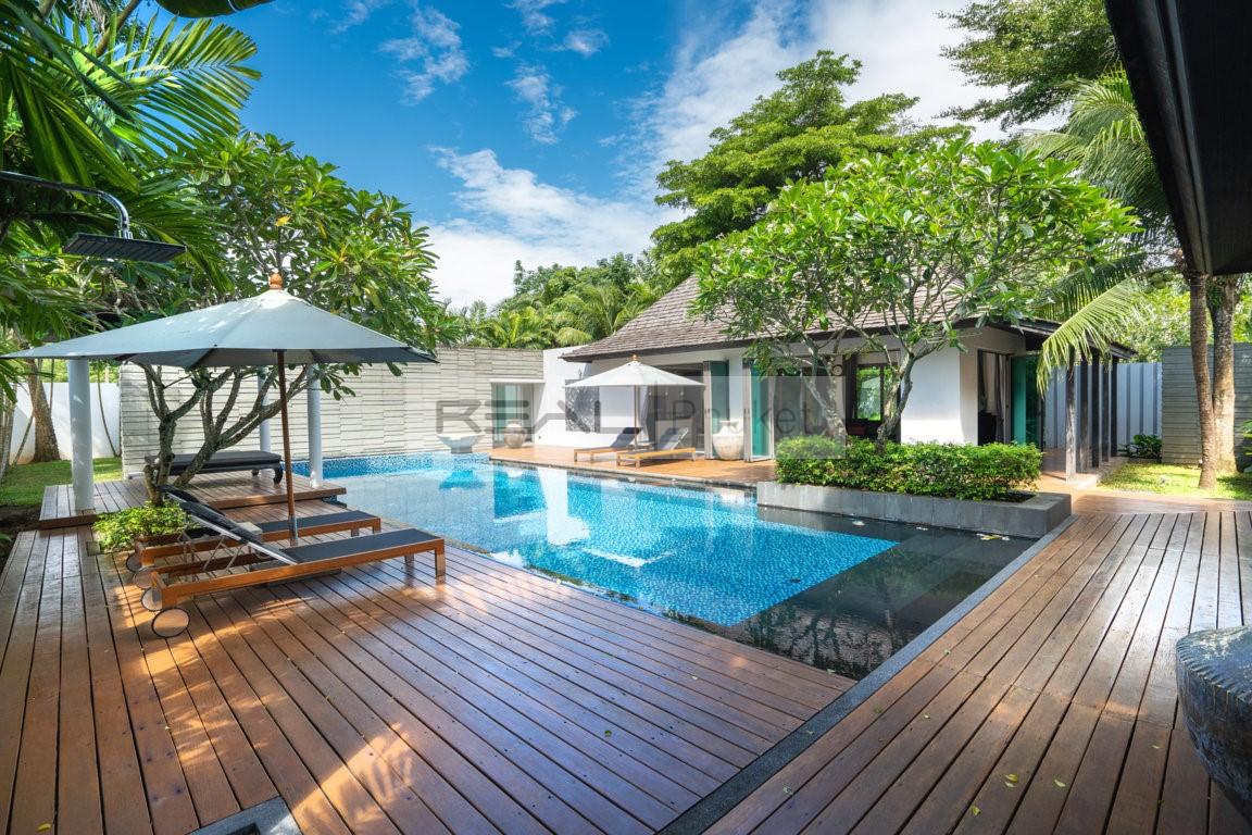 Anchan Villas III - Impressive Bali-Style 3-Bedroom Pool Villa in Layan Phuket