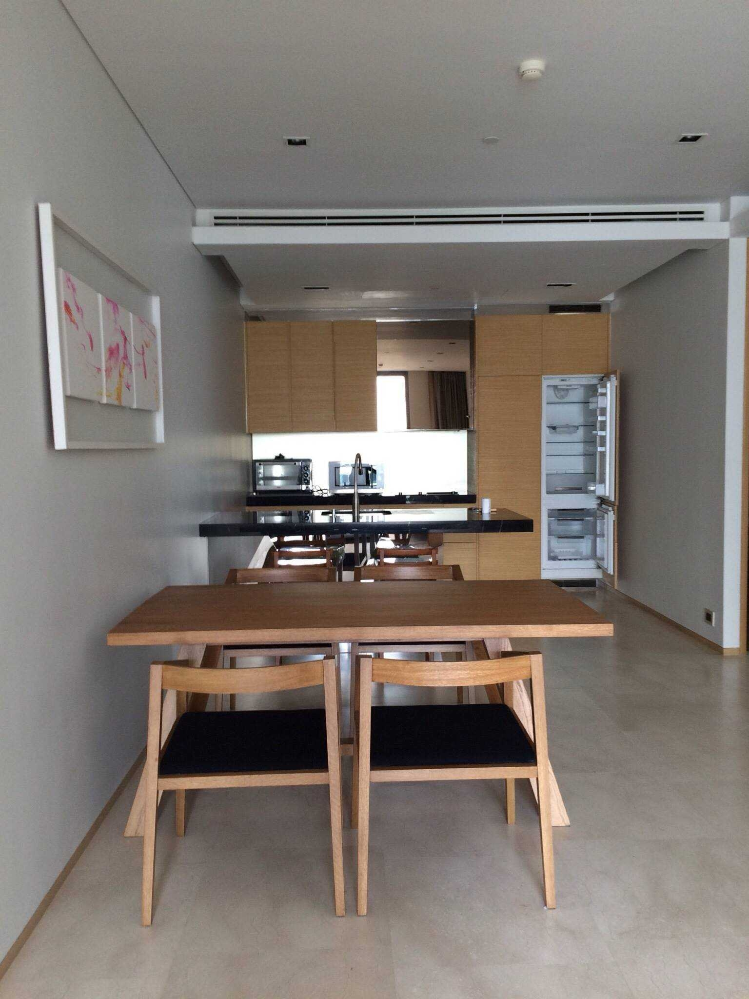 LTH3812 – Saladaeng One FOR RENT 2 beds 2 baths size 103.73 Sq.M. Nearby MRT Lumphini station ONLY 80k/Month