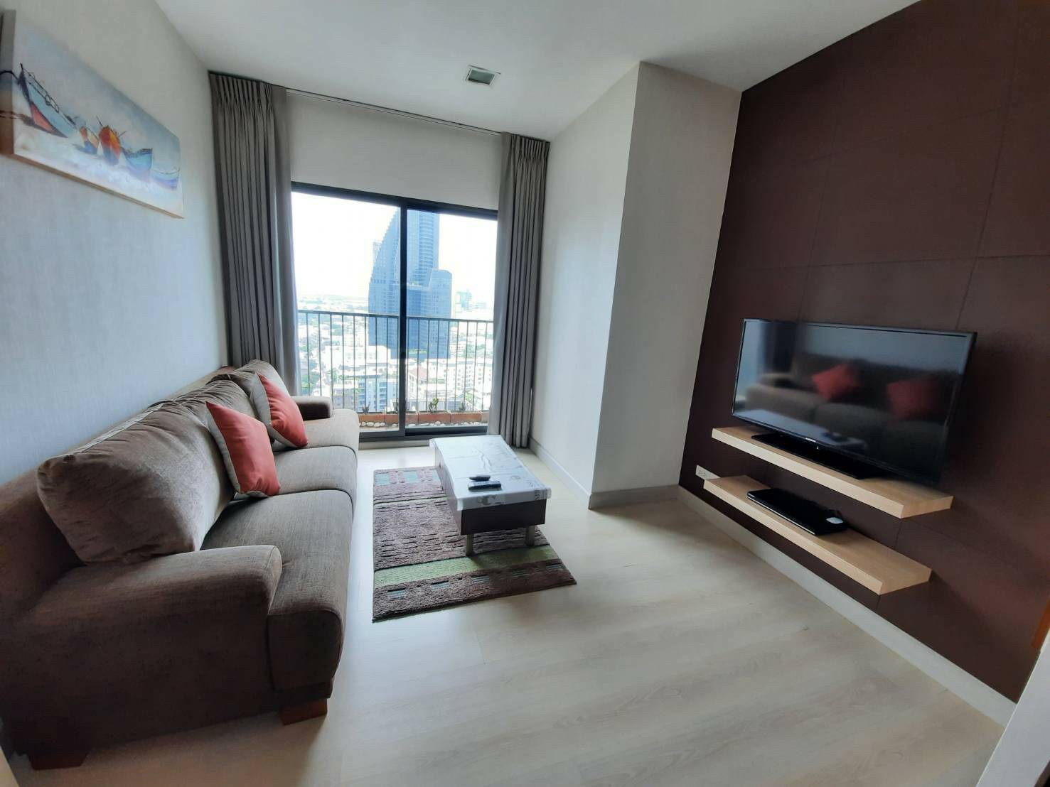 LTH3841 – Noble Remix FOR RENT 1 bed 1 bath size 45 Sq.M. Nearby BTS Thonglor station ONLY 20k/Month