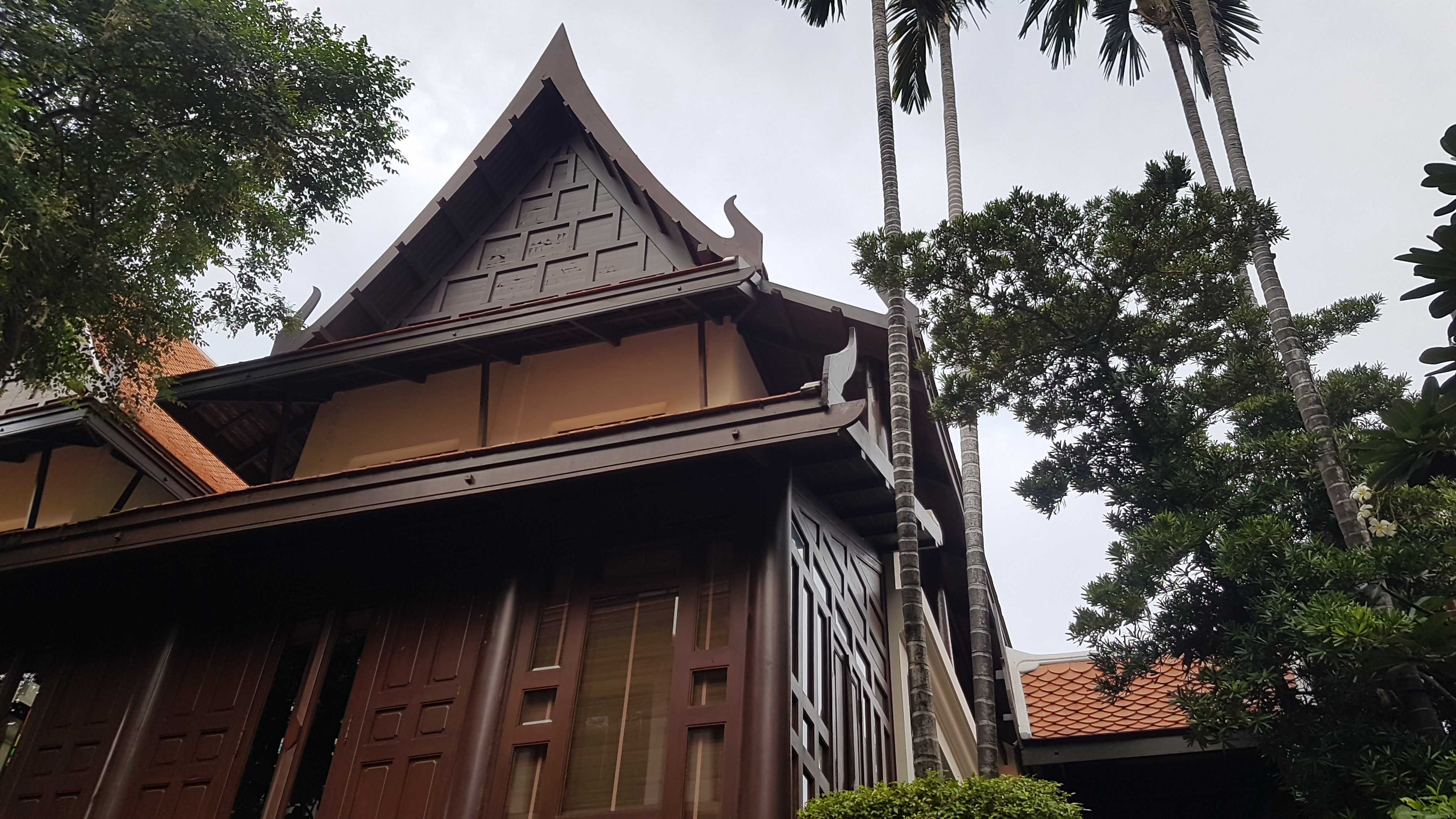 Thai Traditional House in Compound