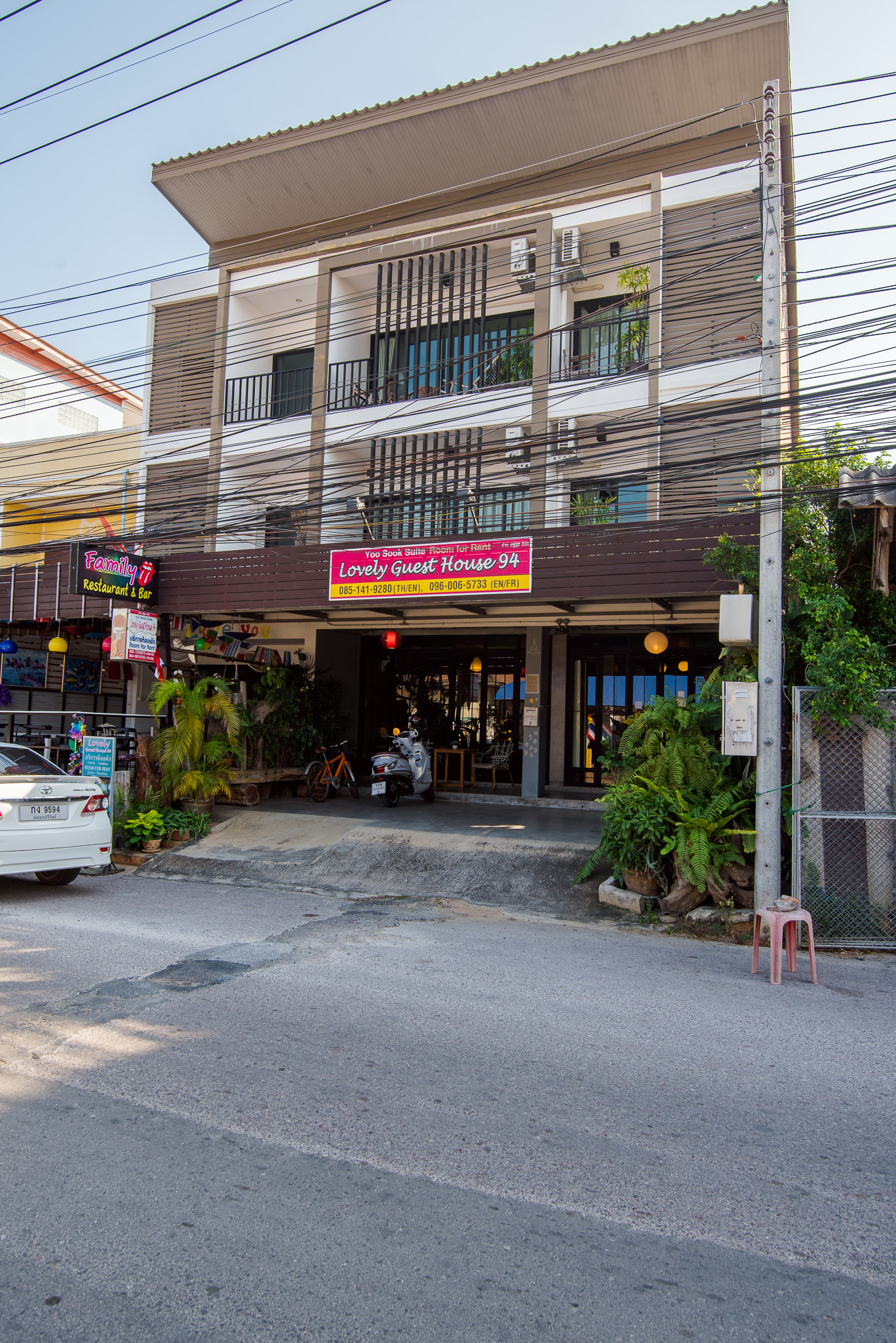 Nice Guesthouse for sale in center Hua Hin
