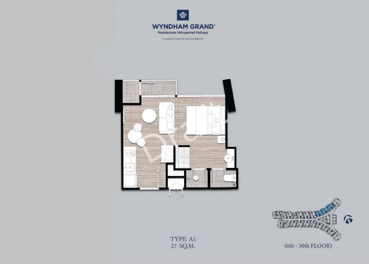 Wyndham grand Residence condo Pattaya