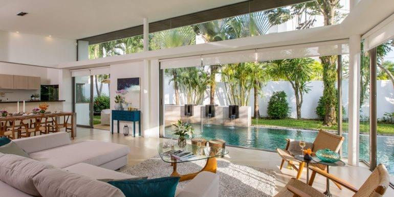 3 bedrooms Pool villa for rent in Cherngtaley CG-118