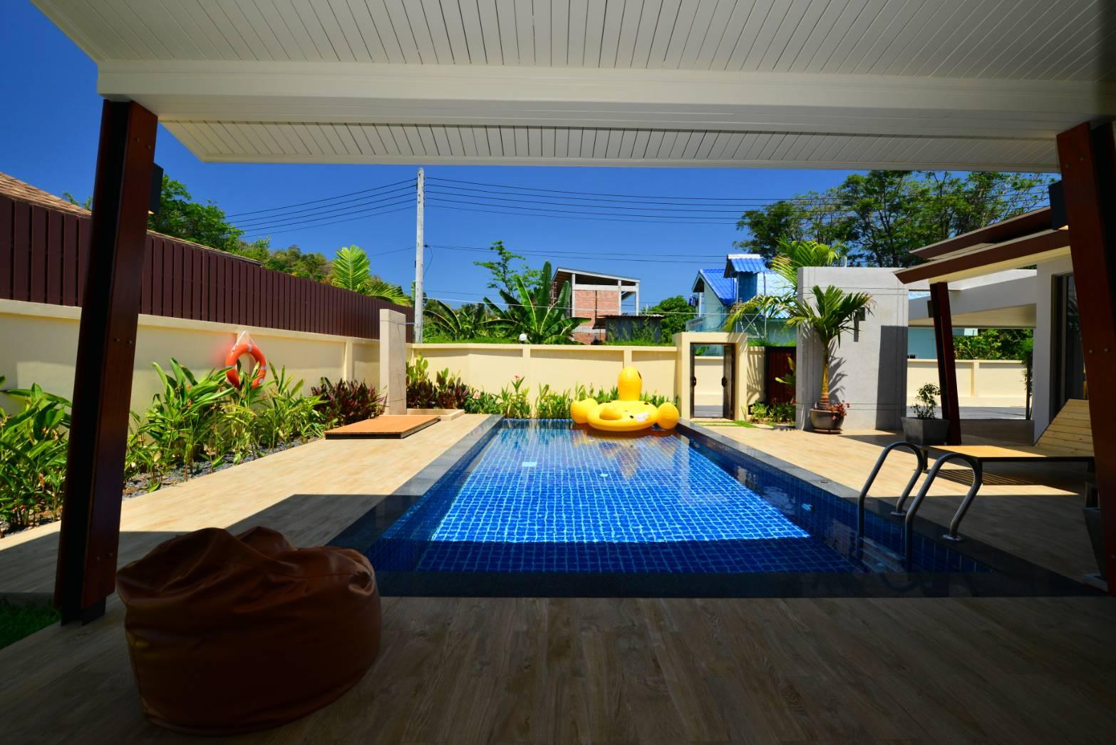3 Bedroom private Garden villa