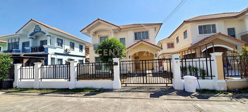Sell/rent a detached house Pruksa Village 6 Rama 2-Bang Khun Thian Chai Talay Empty house can raise animals/34-HH-64116