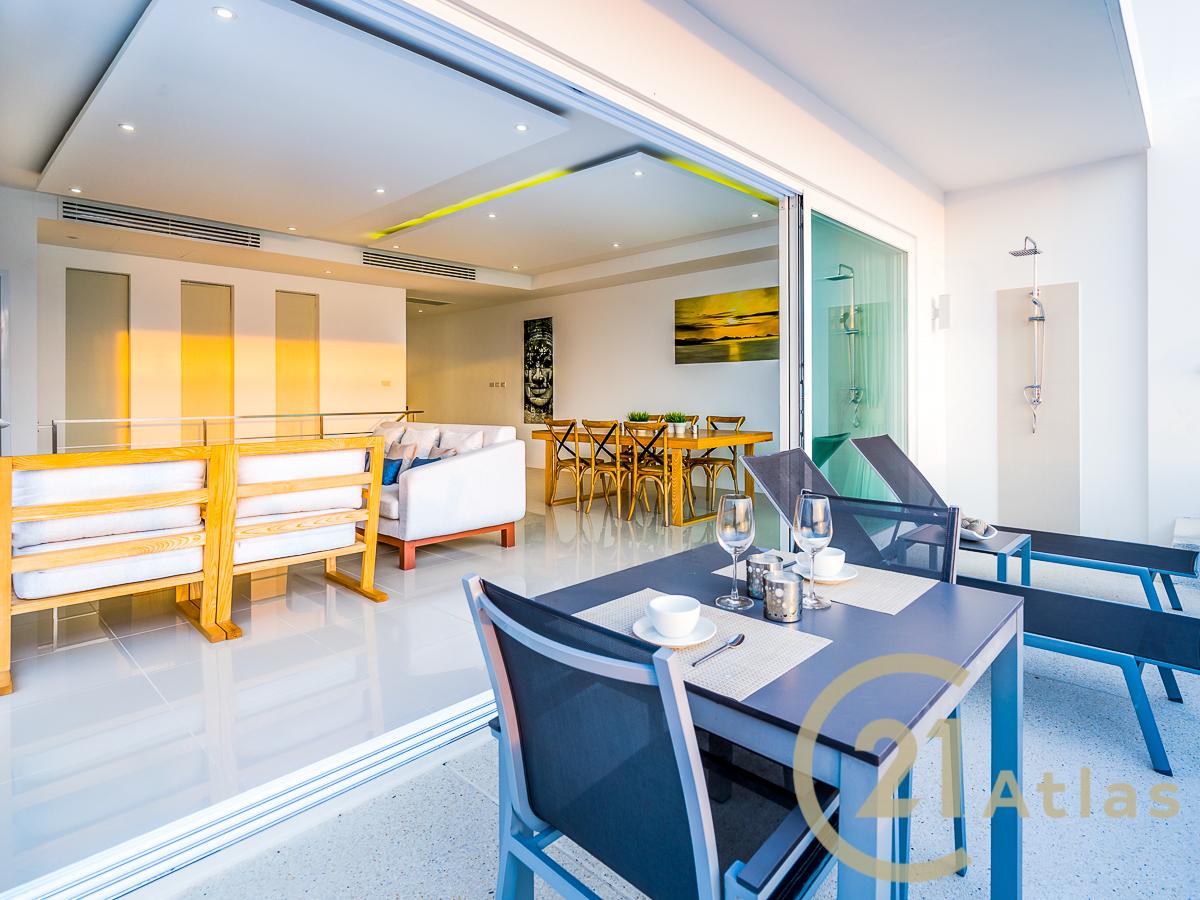 2 bedroom luxury Sea View pool Villa