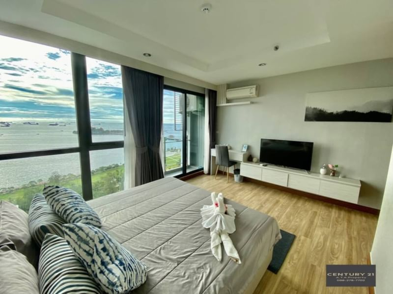 2-bedroom for rent, perfectly decorated, ready to move in, sea view