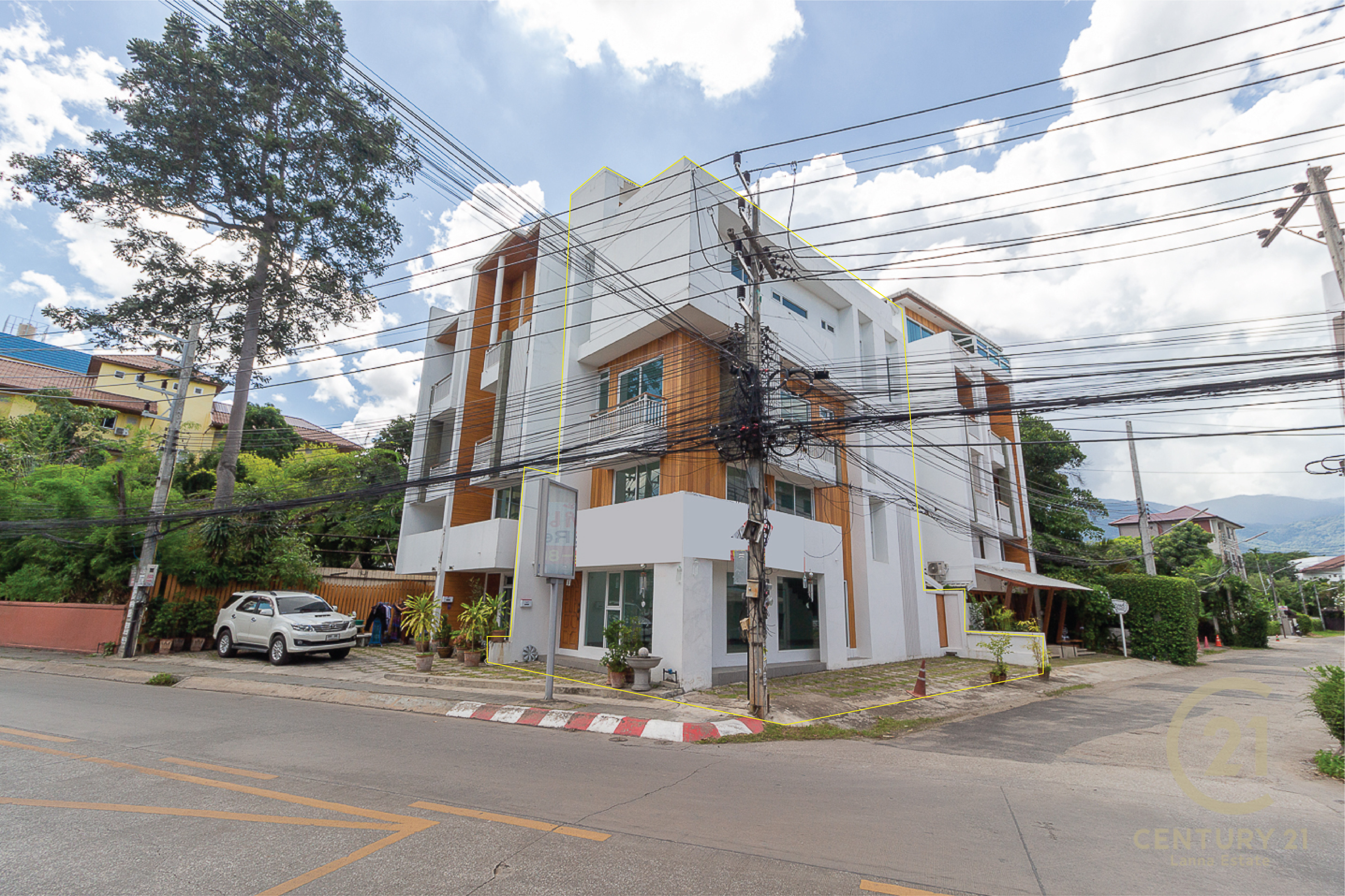 Brand new Corner Commercial Building for SALE in Nimman