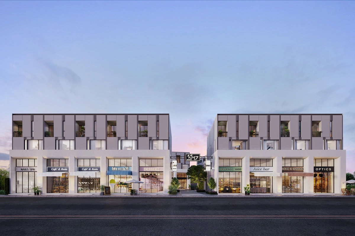 1517 Co-Business and Living space Commercial Building for SALE by Sansiri