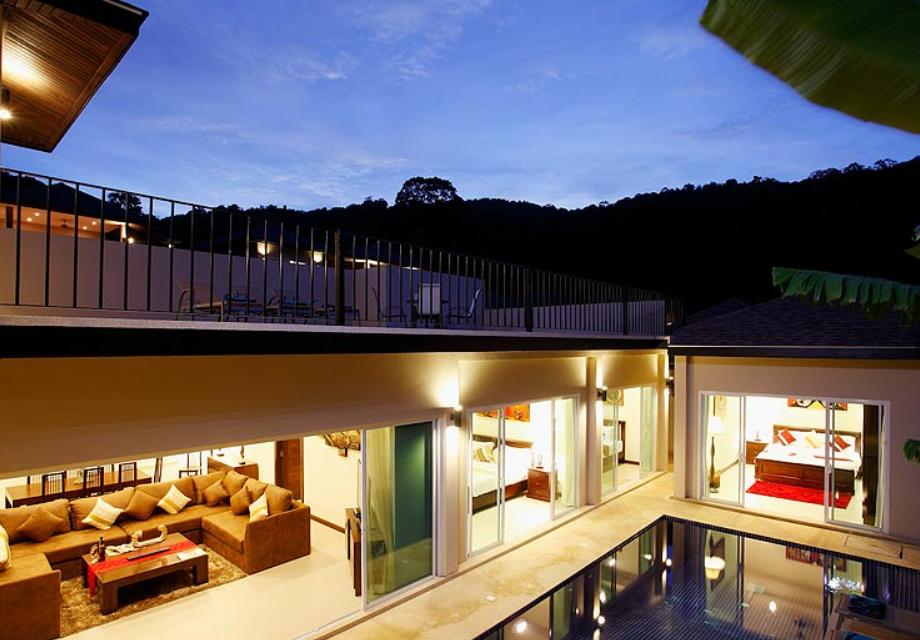 5 Bedrooms Private pool villa for rent in Rawai