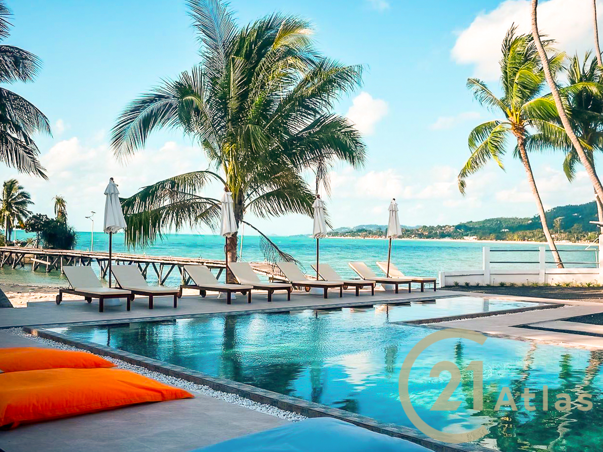 Beach Front resort for sale in a prime location