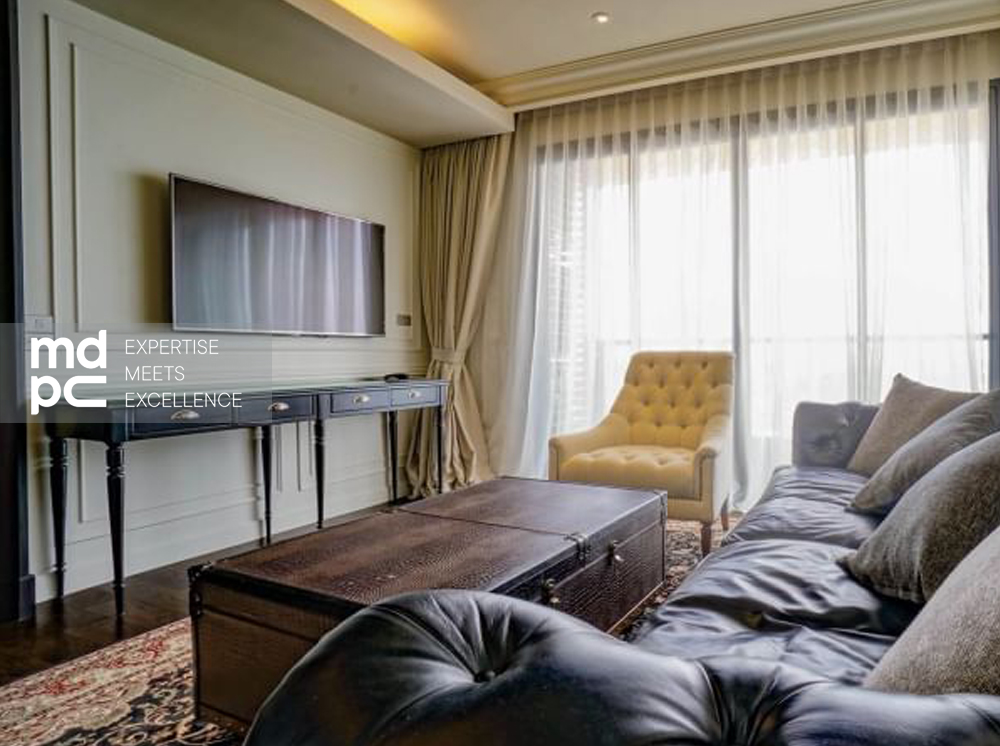 HOT DEAL! FOR RENT The Lumpini Sukhumvit 24 (110 Sq.m.) Beautiful decoration, Fully furnished and READY TO MOVE IN!!!!