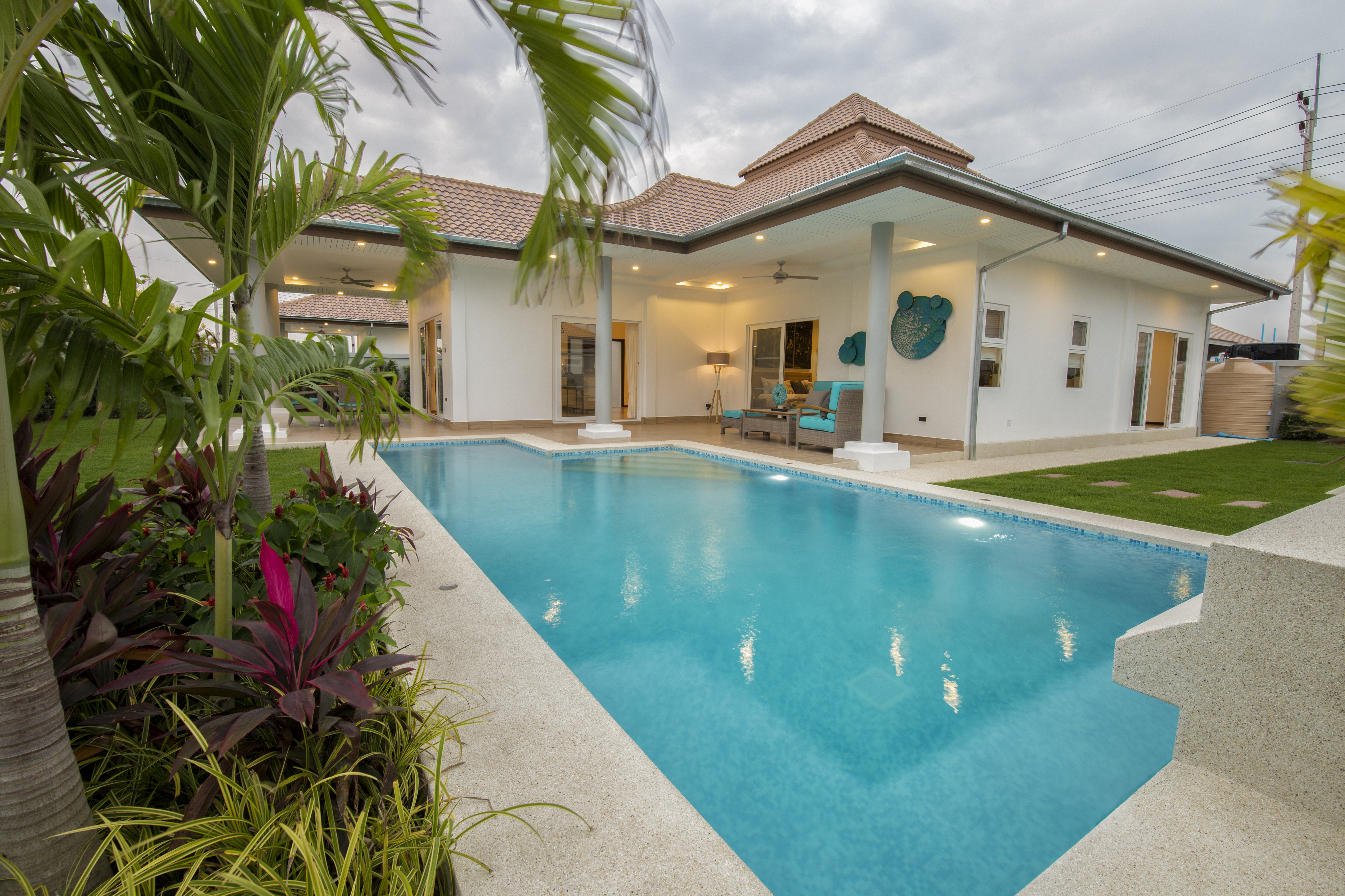 Luxury Pool Villas a really stunning location which must be seen.