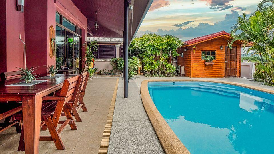 Unique 3 Bedrooms Pool Villa in Thalang
