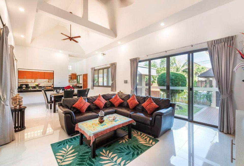 Tropical Family 3 Bedrooms Pool Villa in Rawai
