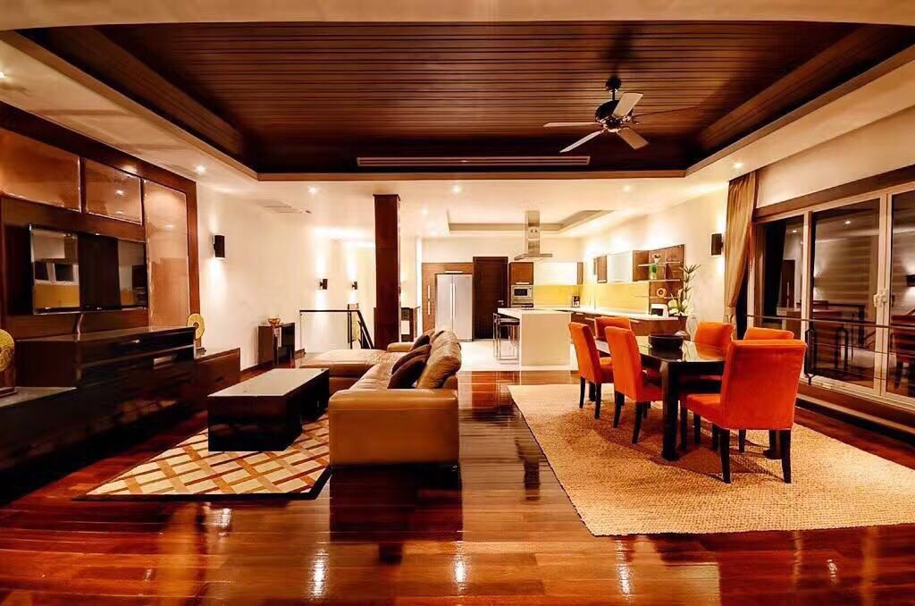 Pool villa Seaview for rent in Patong
