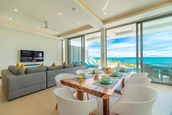 4 bedrooms Pool Villa with Panoramic Seaview for rent in Plai leam