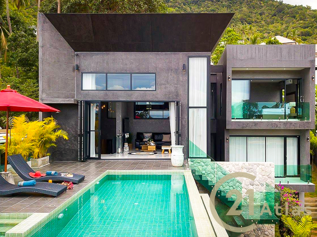 Modern fully fenced 3 bedrooms Pool Villa