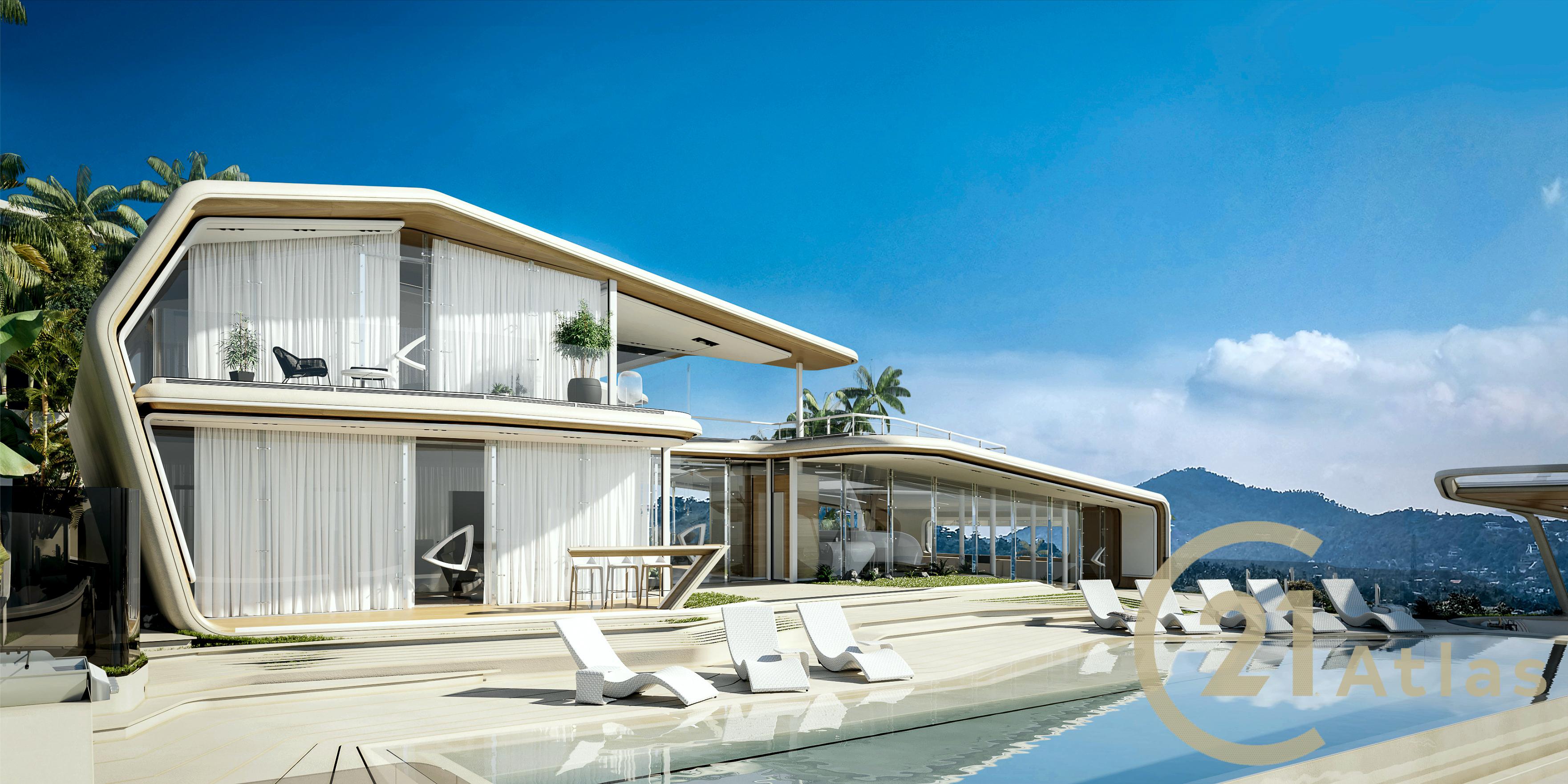 Panoramic Sea view Luxury pool Villa