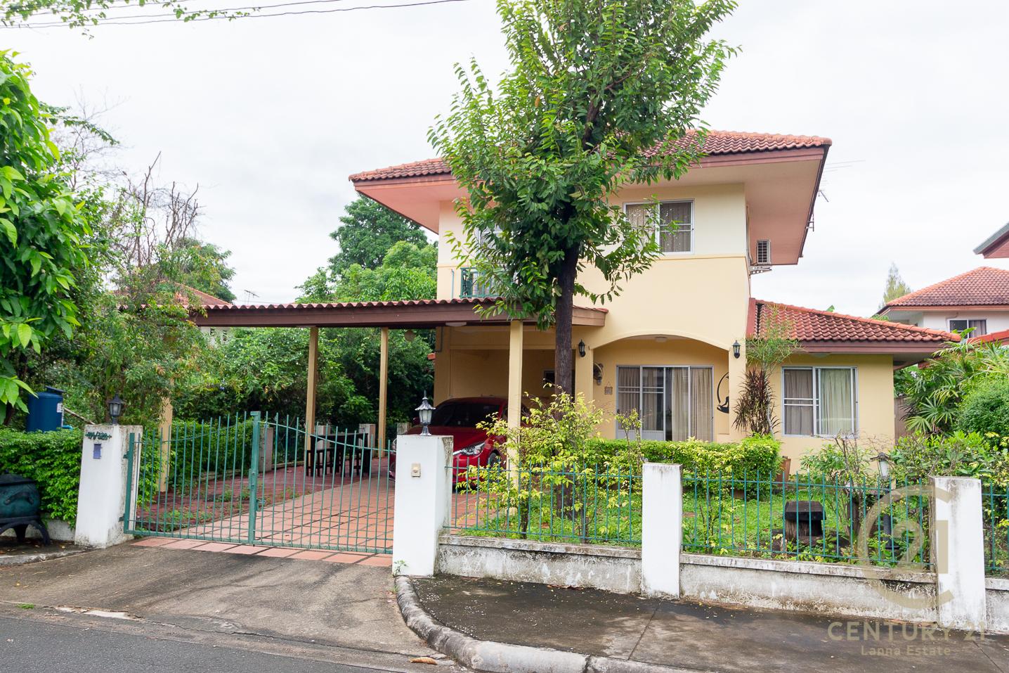 2 Storey House fully furnished for SALE in gated community Baan Naifun 4 San Kamphaeng