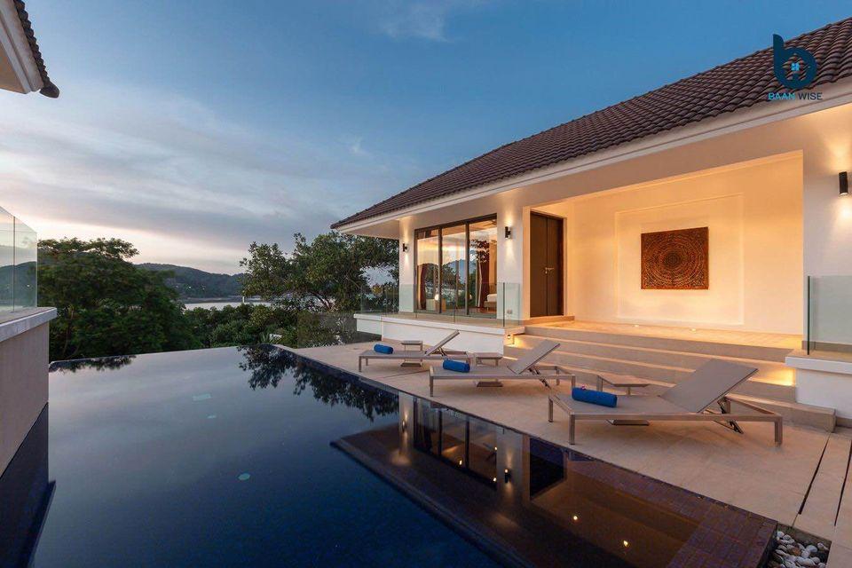 Seaview 4 Bedroom Pool Villa in Ao Por