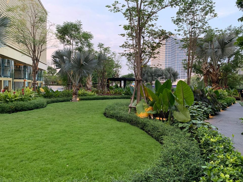 Magnolias waterfront residences  - 2 beds / 2 baths - near Charoen Nakhon
