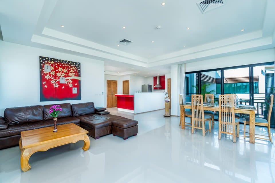Seaview 3 Bedroom Penthouse in Surin