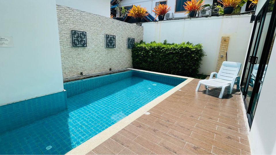 Fully Furnished 3 Bedroom Pool Villa in Naiharn